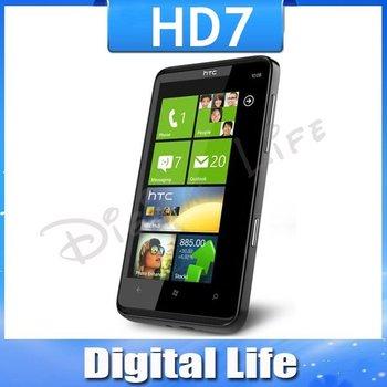 T9292 Original HTC HD7 3G Windows Phone 7 GPS WIFI 5MP 4.3''TouchScreen Unlocked Cell Phone