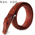 Free Shipping New arrival 100%genuine Leather men's Belts,antique crocodile buckle top alligator design for men wholesale&retail