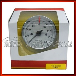 "Best Price 2304 Chrome 3-3/4"" 8000 RPM Tachometer Gauge Meter(China (Mainland))"