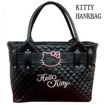 Hello Kitty bags Classic Tote Bag women Handbags handbag black messenger bags shopping Totes School bag BKT209