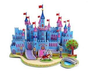 Children Puzzle 3D puzzle -Blue Castle