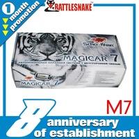 Free shipping  hot selling MAGICAR SCHER-KHAN  2 way magicar car alarm system Magicar M7 Russian version