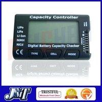 F01974 G.T.POWER Digital Battery Capacity Checker , Cell meter For NiCd NiMH , Li-Po,LiFe,Li-lon AKKU  Cellmeter-7 + Free shp