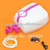 Portable Makeup Airbrush System Mini Airbrush Compressor 5 Adjustable speed 24 hours working Free shipping