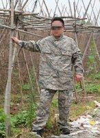 Military fatigues  BDU hunting suit Combat BDU UniformWargame italian camouflage /ABU  BDU.COAT+PANTS,free shipping