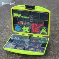 Free Shipping Fishing Box And Accessories Fishing  Tackles Swivels Jig Hooks Lind Box Fishing Tools Fishing Tackle Box