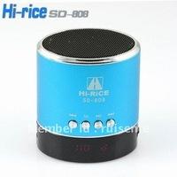 New Original  Mini Speaker Hi-Rice SD-808 TF&USB+FM +dispaly
