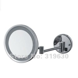 "Wholesale fashionable bathroom in wall makeup mirror,led mirror/8"" shaving & cosmetic mirror -3400(China (Mainland))"