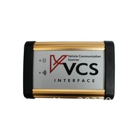 universal VCS Vehicle Communication Scanner VCS Scanner Interface with 4 Languages freeshipping by DHL
