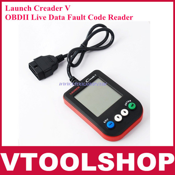 Launch Creader V OBD2 OBDII Live Data Fault Code Reader Scanner Diagnostic Tool Original ,update via internet(China (Mainland))