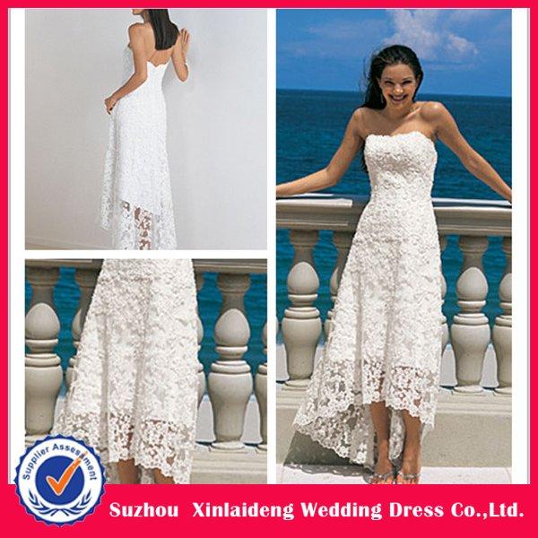 Wedding Dresses Short In Front Longer In Back 113
