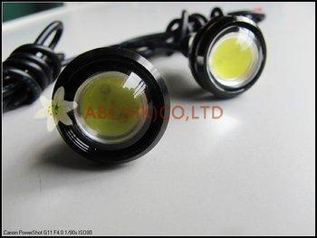 free shipping Car light Pair 3W High Power LED Larger Lens Ultra-thin car led Eagle Eye Tail light Backup Rear Lamp
