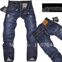 New DSQ Men's Denim Pants Washed Ripped Jean Handsome Close-fitting Pants For Men Wear Good Quality Hot Selling