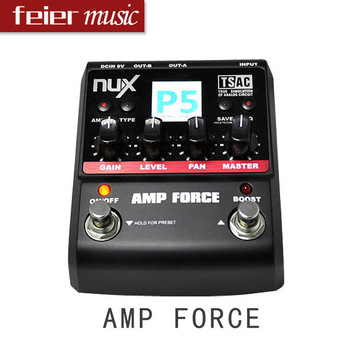 NUX  Guitar Effect Pedal/Stomp Boxes/Force series/AMP FORCE Modeling Amp Simulator best guitar pedal Wholesale