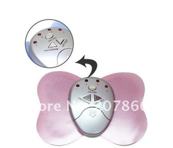 20pcs Electronica Mini Slimming Butterfly Body Muscle Massager free shipping