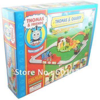 2013 Supernova Sales Promotion!Free shipping Thomas Train Car Tomis family  Electric rail train set  kids toy gift