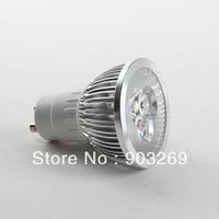 Mail Free+ 1PC  SD84 LED Spotlight 3LED Light Bulb 85-265V GU10 6W  400LM White/Warm White High Power Intensity Bulb