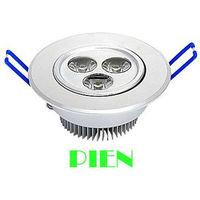 Wholesale 3W 6W 9W high power led downlight spot light Warm white/cold white AC85-265V Free shipping by DHL 20pcs/lot
