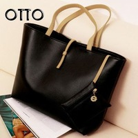 Promotion!!! 2012 Europe Fashion Street Women Lady Handbag Soft PU Leather bag Tote Purse Shoulder Bag