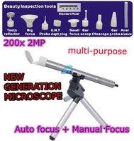 Supereyes Mini Portable 200X USB Digital Microscope Endoscope Otoscope with LED   for Multi-purpose