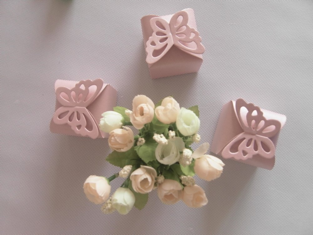 Wholesales Price~~Wholesale,Pink Color Personalized Design Chocolate Gift Box,Package box,80pcs/lot(China (Mainland))