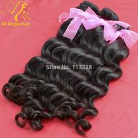 """4pcs/lot;Best Quality:virgin brazilian hair weft,natural wave,100% natural color,12""""-30"""", about 3.5oz/pcs"""