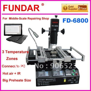 DHL free shipping BGA Rework Reballing Station Repair BGA Chip welding Machine ( 110V available )