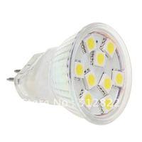 9LED MR11 SMD 5050 Spot Light 12VDC White Warm White 20pcs/lot