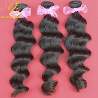 virgin Brazilian hair extension loose wave remy hair weft 100% virgin human hair 2pc/lot 3.5oz/pc queen hair products