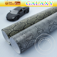 free shipping by fedex newest 1.52*30m camouflage snake skin texture newest car body 3d sticker with air free bubble