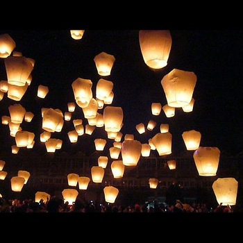 Wholesale - High Quality Sky Lanterns,Wishing Lantern fire balloon Chinese Kongming lantern Wishing Lamp,Wedding Gift