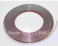 Free Shipping Micro Chrome Auto Car Interior Exterior Moulding Trim Strip Line - 10MM*5meter (195'')