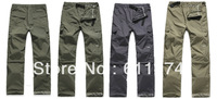 wholesale Summer UV Resistant Outdoor Sportswear Hiking Camping Fishing Quick Fast Speed Dry pants Men Detachable Cuff