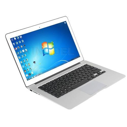 """13.3"""" Super Thin Aluminum Alloy Laptop, Notebook Computer, CPU: Intel Celeron 1037U Dual Core, 2GB RAM, 32GB SSD, WiFi, HDMI"""