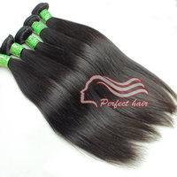 Perfect brazilian hair straight weave 3pc/lot unprocessed brazillian hair weft