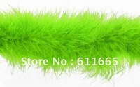 Free shipping Christmas Decoration Chicken Feather Boa,Wedding Marabou Feather strips,10pcs/lot,2yards/strip