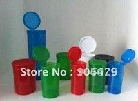 30dr= 120ml  Hinged-lid pop top container,Pop Up vials (1800pcs/lot) Door to door free shipping,Factory Supply discount!