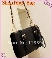 free shippment  fashion  new female bag fashion wild shoulder chain bag Messenger bag