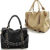Fashion Women's Tote Lady Hobo Handbags PU Leather Shoulder Bag Shopper Satchel West/East Bag Free Shipping NB0004