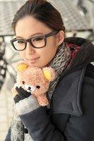 1pcs 3D Rilakkuma Bear Idoll case for iphone 4 4s 4g Cartoon Plush idoll case for iphone  4s