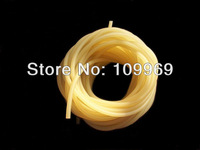 free shipping  rubber band slingshot , latex tube , ten meters without joints,item no 2050 plain/black color