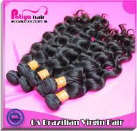 No shedding 2pcs lot virgin brazilian hair natural wave color 2 or 1b 100% raw brazilian natural wavy hair human extension 6a