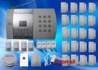 20 Door/Window Detector Home Security Alarm System Kit Auto Dial Burglar Intruder Alarm Systems S216