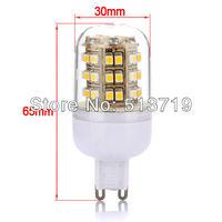 Free shipping 10X Wholesale New G9 48 SMD LED Spot Light Spotlight 200V-240v  Warm White Effective Bulb
