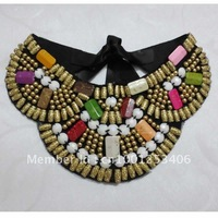 Colorful Fashion Women Handmade Collar, Girl Necklace,  Bandage Style,