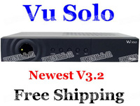 Cheapest Newest V3.2 Vu Solo VU+Solo PVR Linux Smart  Single Tuner Digital dvb-s2 HD Receiver Free Shipping 1pcs