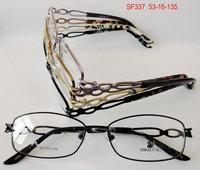 New arriving Highquality Women Full Metal frame armacao de oculos mulheres eyeglasses prescription glasses 12 pcs /lot wholesale
