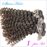 "retail 100% Malaysian virgin remy human hair extension machine weft top quality 10""-30"" deep wave"