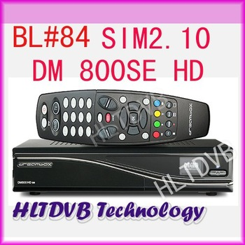 1pc Satellite TV Receiver DM800se dm800hd se Bootloader 84 SIM2.10 BCM4505 Tuner Decoder DM800 hd se fedex Free Shipping