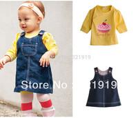 autumn meninas vestir suit girl ninja turtles kids jeans full costumes for children 2 pcs good quality toddler girl clothing